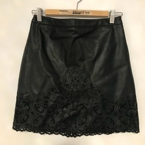 Leather Evernew Skirt